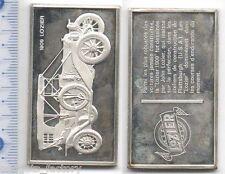 lingot d argent les voitures du Monde ( 1909 Lozier - 030 )