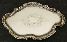 Antique English 1894 Henry Matthews Birmingham England Sterling Silver Tray