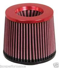 """KN UNIVERSAL AIR FILTER (RR-2801) 2-3/4""""FLG, 5-7/8""""B, 5-1/4""""T, 5""""H; RED TOP"""