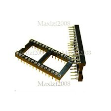 10pcs New DIP28 28PIN DIP 28 IC Socket Holder DIL IC Adapter Sockets Sold Wide