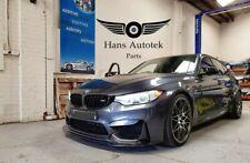 V-Style Carbon Fiber Front Lip Splitter FOR BMW F80 F82 F83 M3 M4  2014-Up