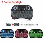 2.4G Backlit Wireless Keyboard Touchpad Rechargeable for Smart TV Android PC