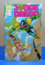 JUDGE DREDD #15 Quality Comics Uncertified PRINTED IN SPAIN in English 1988