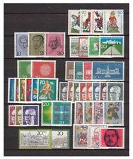 Postfrische Briefmarken aus der BRD (1970-1979) mit als Posten & Lots