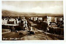 1456 CPA SYRIE  DAMAS AV FOUAD I° PHOTOGRAPHIE VERITABLE   FRANCE POSTCARD