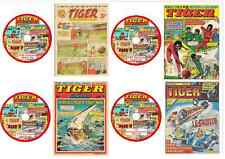 Tiger Comics 596 issues & specials on 4 DVDs (offers available - see listing)