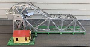 Vtg LIONEL #313 Vintage O Scale Bascule Bridge Postwar 313-46 1940s