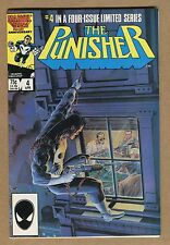 The Punisher #4 - Final Solution! - 1986 (Grade 8.5) WH