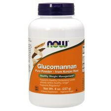 NOW Foods Glucomannan 100% Pure Powder from Konjac Root - 8 oz