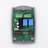 2 Kanal Fernsteuerung Controller   Handsender 12V 433,92 MHz   JAS8