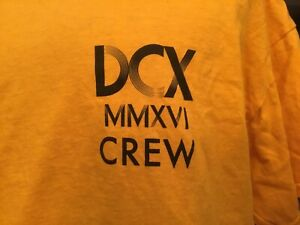 DIXIE CHICKS CONCERT T-Shirt ~DCX~MMXVI~ CREW~Size XL~EXTREMELY RARE