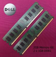 Memoria (RAM) con memoria SDR SDRAM de ordenador con memoria interna de 2GB 2 módulos