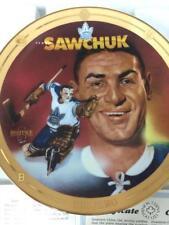 1994 Bradford Exchange Maple Leafs Terry Sawchuk Legends of Hockey Plate w/ Coa