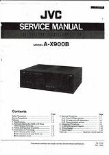 JVC Service Manual  für A- X 900 B