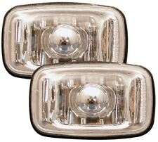 TOYOTA CELICA SURF HILUX CRYSTAL CLEAR CHROME SIDE LIGHT REPEATER