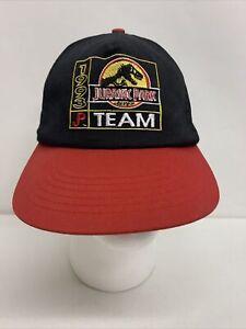 Vintage Jurassic Park 1993 Team Hat Baseball Cap Snapback Vtg 90s Mcdonalds