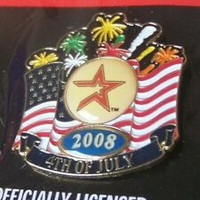 2008 Houston Astros 4th Fourth of July lapel pin MLB