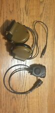 3M PELTOR COMTAC III ACH Communication Headset, Neckband, And 6 Pin Push To Talk
