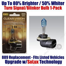 1pk Upgrade Turn Signal Blinker Bulb up to 80% Brighter 50% Whiter 889 CVSU-BP