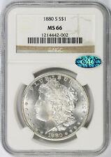 1880-S $1 Morgan Dollar NGC CAC MS66