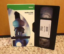 INSIDE A CELL kids VHS educational Lysosomes Mitochondria quizes Nucleus science