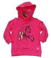 Bondi Kapuzensweatshirt Sweatshirt Mädchen Love Horse Strass Gr. 92 98 NeU