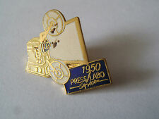 pin's press labo 1950