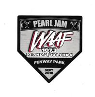 A PEARL JAM BOSTON FENWAY PARK 2018 STICKER SEPTEMBER 2 & 4 2018