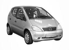 3D Tönungsfolie VORGEWÖLBT Mercedes A Klasse lang 5 Türer Bj 2001-2004