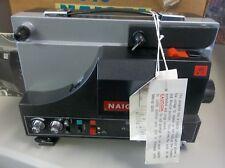 NAIGAI SU-510 SUPER 8 8 mm FILM PROJECTOR in box EXCELLENT Condition ! tested