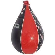 """Ringside Apex Speed Bag, Red/Black, Medium (M), 7"""" x 10"""", P/N: 44101212"""