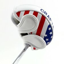 Us Ship Center Shafted Mid Mallet Putter Headcover for Odyssey 2ball Us Magnetic