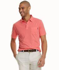 Vineyard Vines Slim Fit XL Polo Shirt Pink Rose Salmon Pima Cotton Mens Size Sz