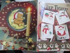 Starlight Sleep Tight Painting Book-Johnston/Tyriver-Santas/Snowmen/Elves/Hallow