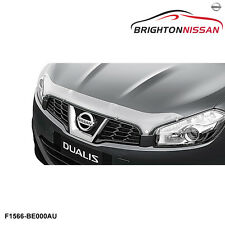 New Genuine Nissan Dualis J-10 Bonnet Protector, Clear F1566BE000AU RRP $155