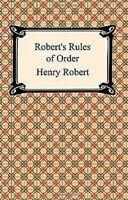 Robert's Rules de Orden por Robert, Henry