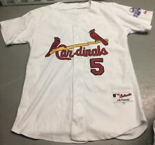 2009 St. Louis Cardinals Albert Pujols #5 Jersey Size 48 All Star Game Patch MLB