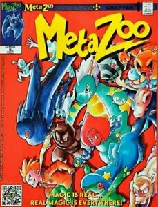 MetaZoo Cryptid Nation Comic Cssue 1 Chapter 1 Second Printing 2nd Edition