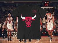 Chicago Bulls #23 Michael Jordan NBA T-shirt (Black)
