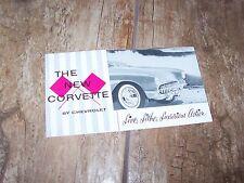 Prospectus /  Brochure CHEVROLET Corvette 1956 //