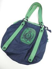 Women's Juicy Couture Blue and Green Tote Bag Purse