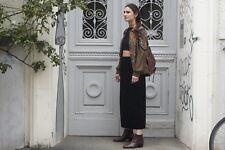 Damen Rock Gr. 38 40 skirt schwarz Samt 90er True VINTAGE 90´s women France