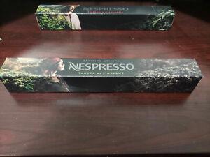 Nespresso Tamuka Mu Zimbabwe 10 Capsules Original Line Limited Edition