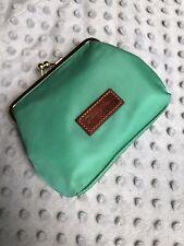 Dooney And Bourke Wallet Clutch Green Nylon