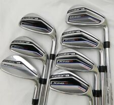 2017 Cobra KING F7 One Length Iron set 5-GW Steel Regular flex F 7 Irons 5-PW,GW
