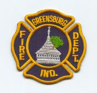 Greensburg Fire Department Patch Indiana IN