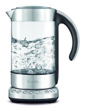 Breville the Smart Kettle Clear Glass/Stainless Steel BKE840CLR