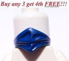 ☀️NEW Lego Minifig DARK BLUE Bandana Face Scarf Wrap Pirate Bandit Ninja Ninjago
