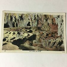 Vintage Postcard Carlsbad Cavern New Mexico Lily Pads Big Room  P6