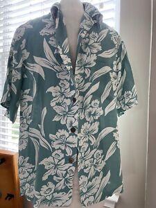 Vintage Kamehameha Aloha Hawaiian shirt Hawaii L